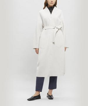 Kupio Wool Shoulder Coat