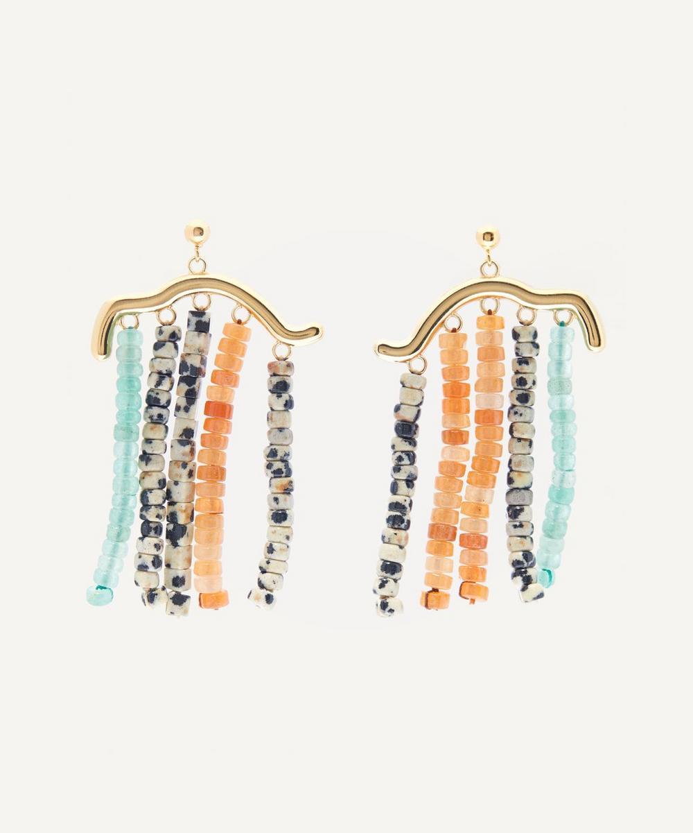 Paloma Wool - Lluvia Mineral Stone Beaded Earrings