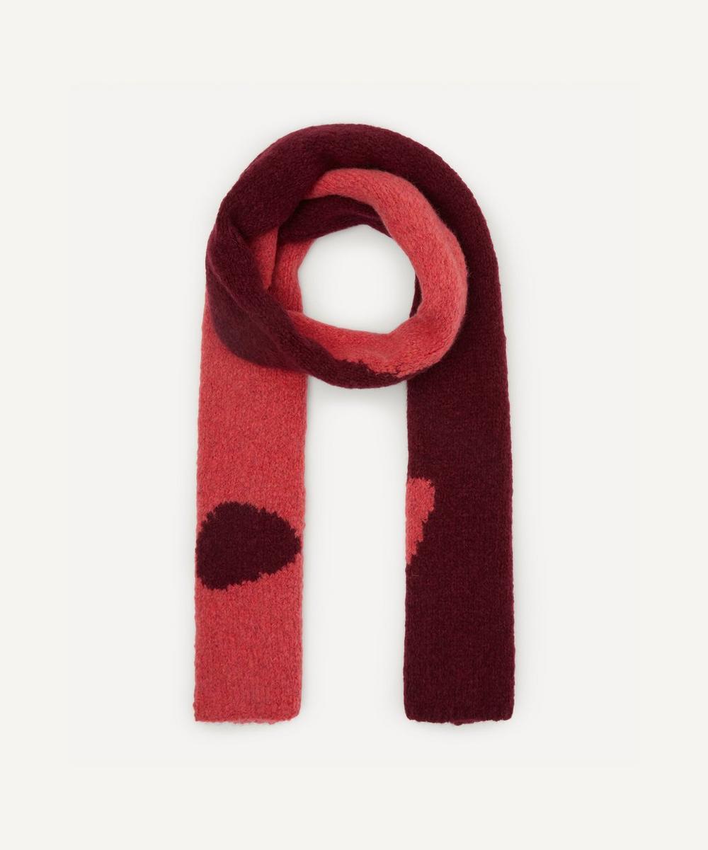 Paloma Wool - Coco Ying Yang Intarsia Knit Scarf