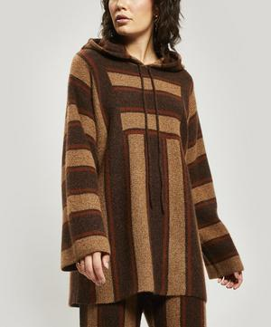 Lina Cashmere and Silk-Blend Hooded Knit
