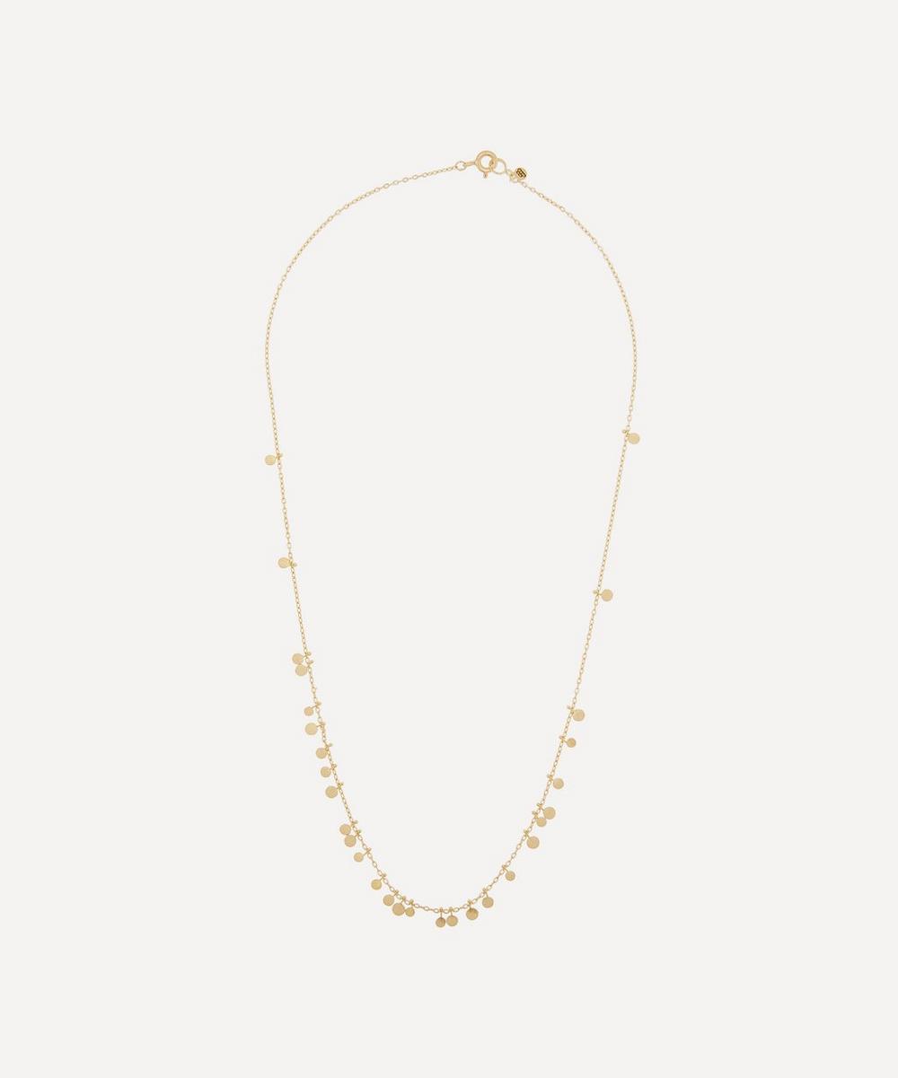 Sia Taylor - Gold Random Dots Necklace