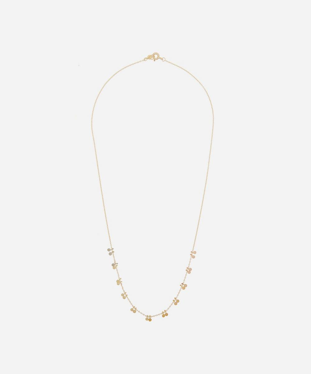 Sia Taylor - Gold Rainbow Little Dots Necklace