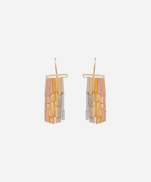 Gold Rainfall Drop Earrings