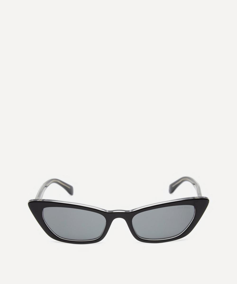 Miu Miu - Slim Cat Eye Sunglasses