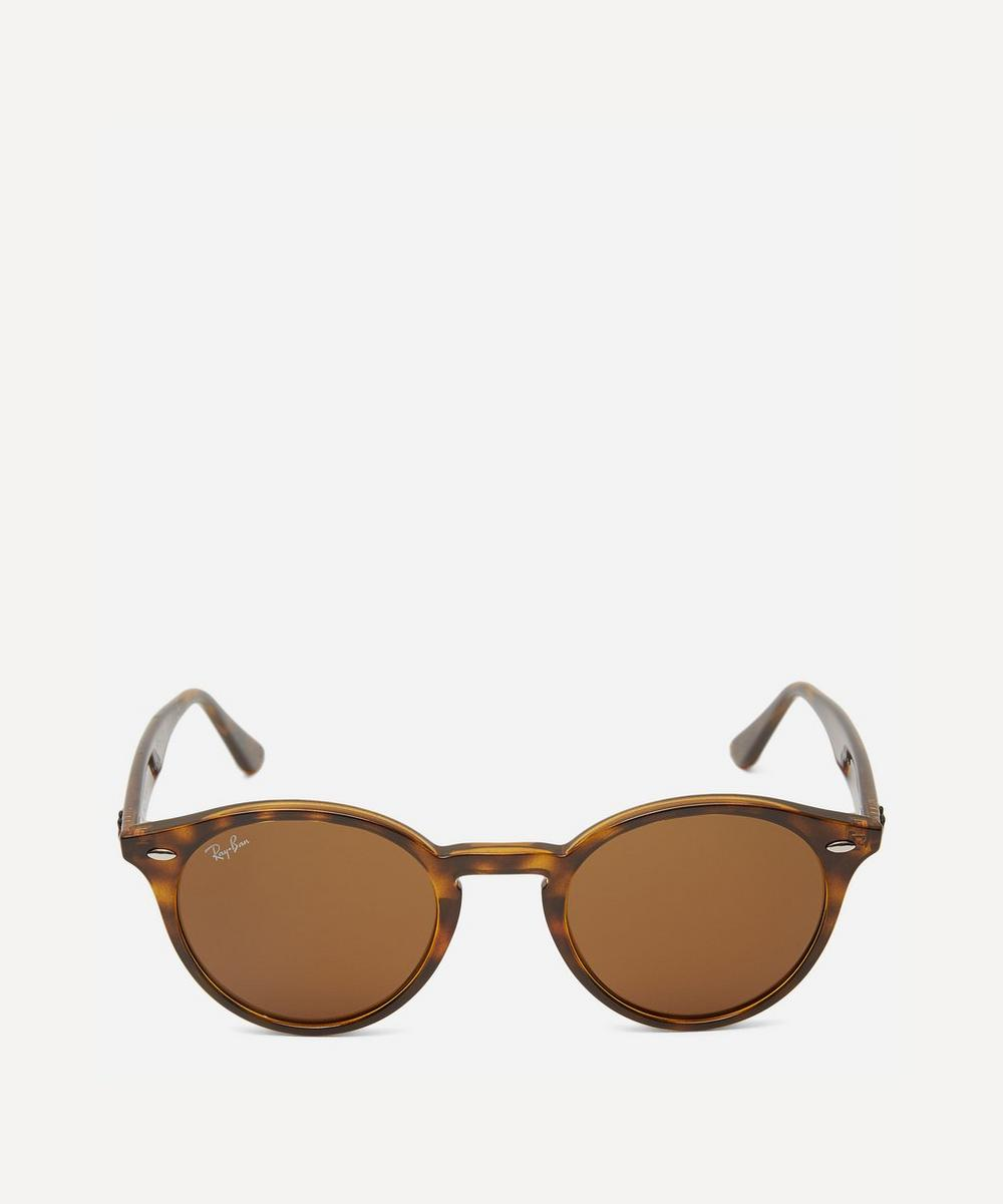 Ray-Ban - RB2180 Round Acetate Sunglasses