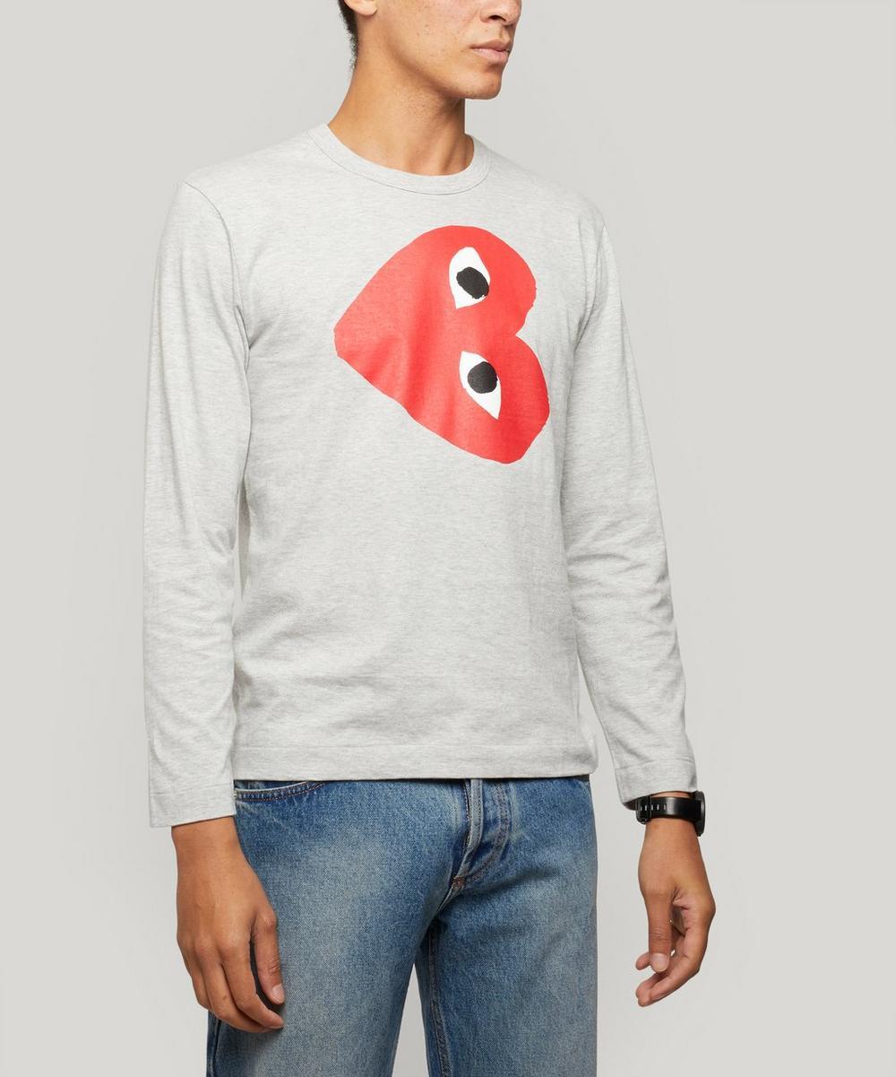 Comme des Garçons Play - Sideways Heart T-Shirt