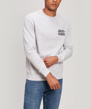 Avant-Garde Embroidered Cotton Sweatshirt