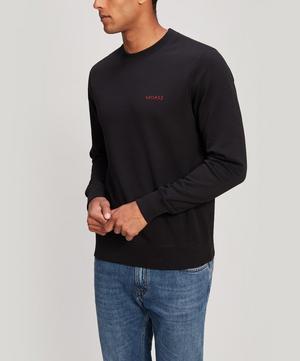 Bad Ass Embroidered Cotton Sweatshirt