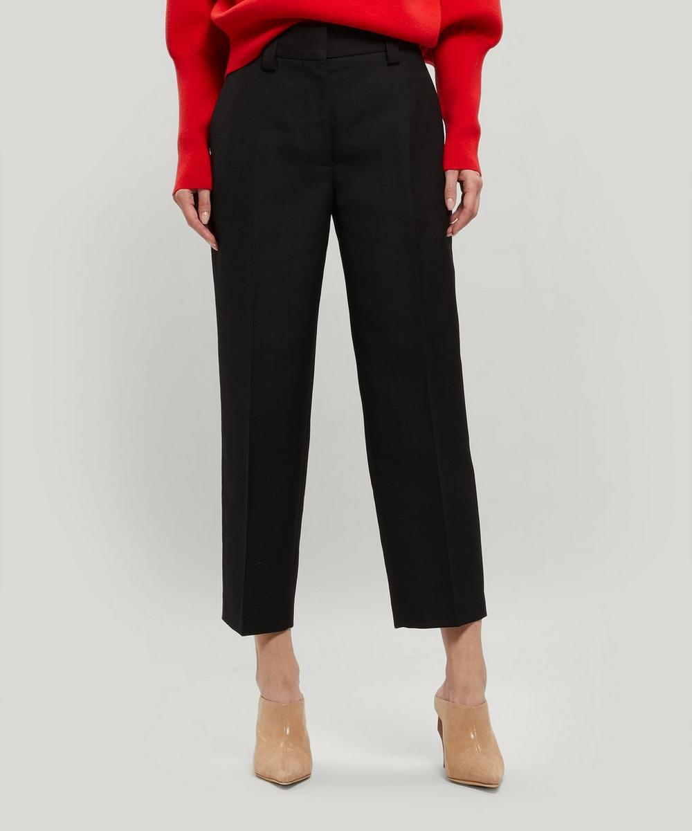 Acne Studios - Cotton-Blend Tapered Trousers