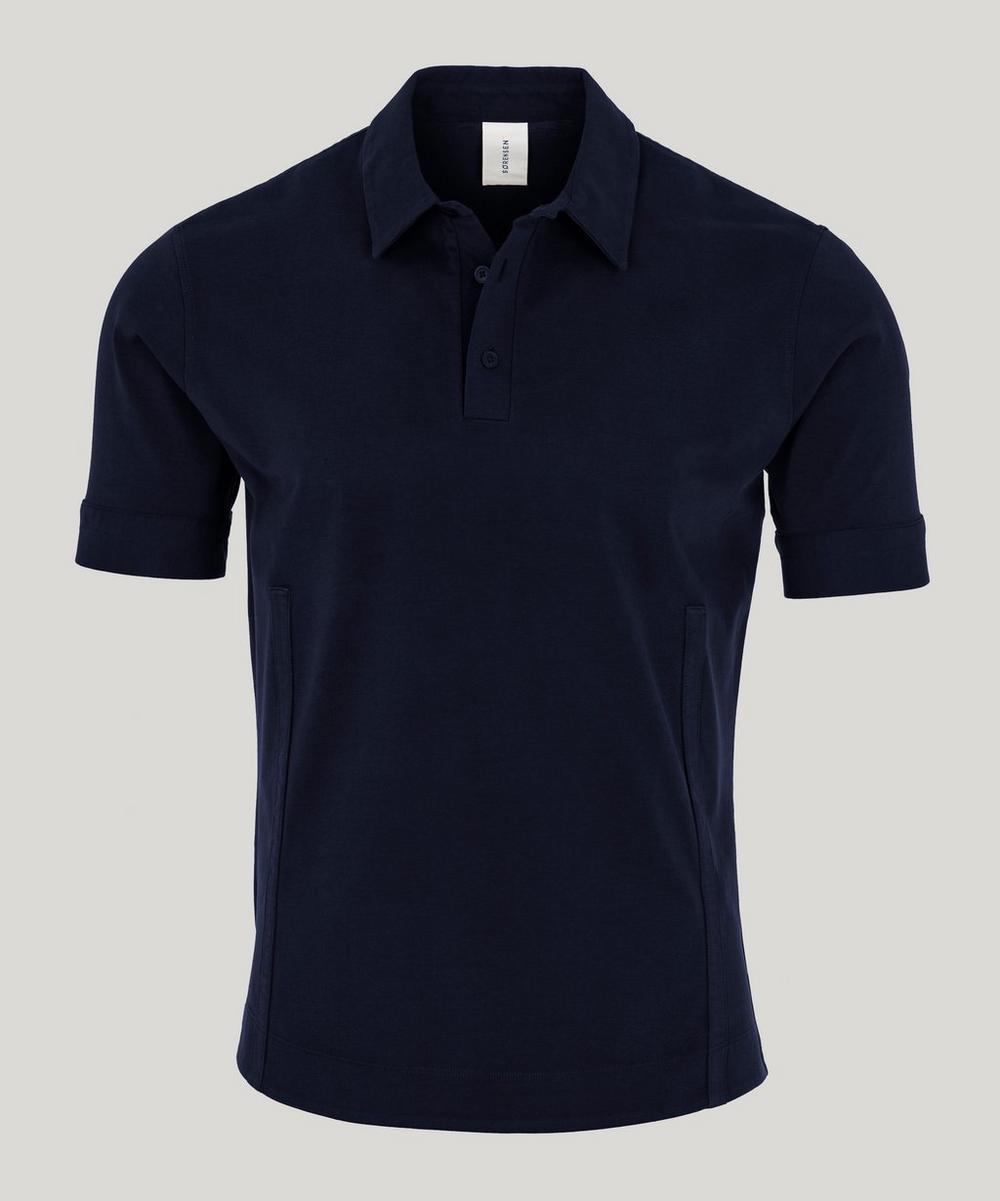 SØRENSEN - Driver Cotton Polo-Shirt