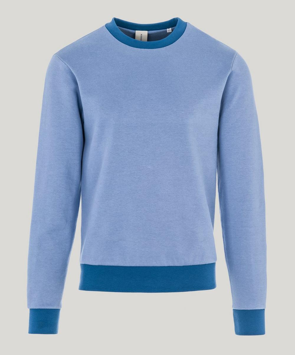 SØRENSEN - Dancer Contrast French Terry Cotton Sweater