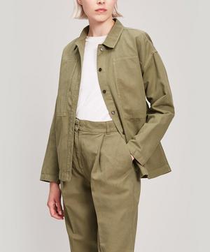 Linen and Cotton-Blend Jacket