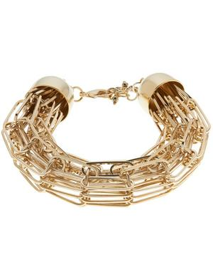 Gold-Tone Muse Chain Bracelet
