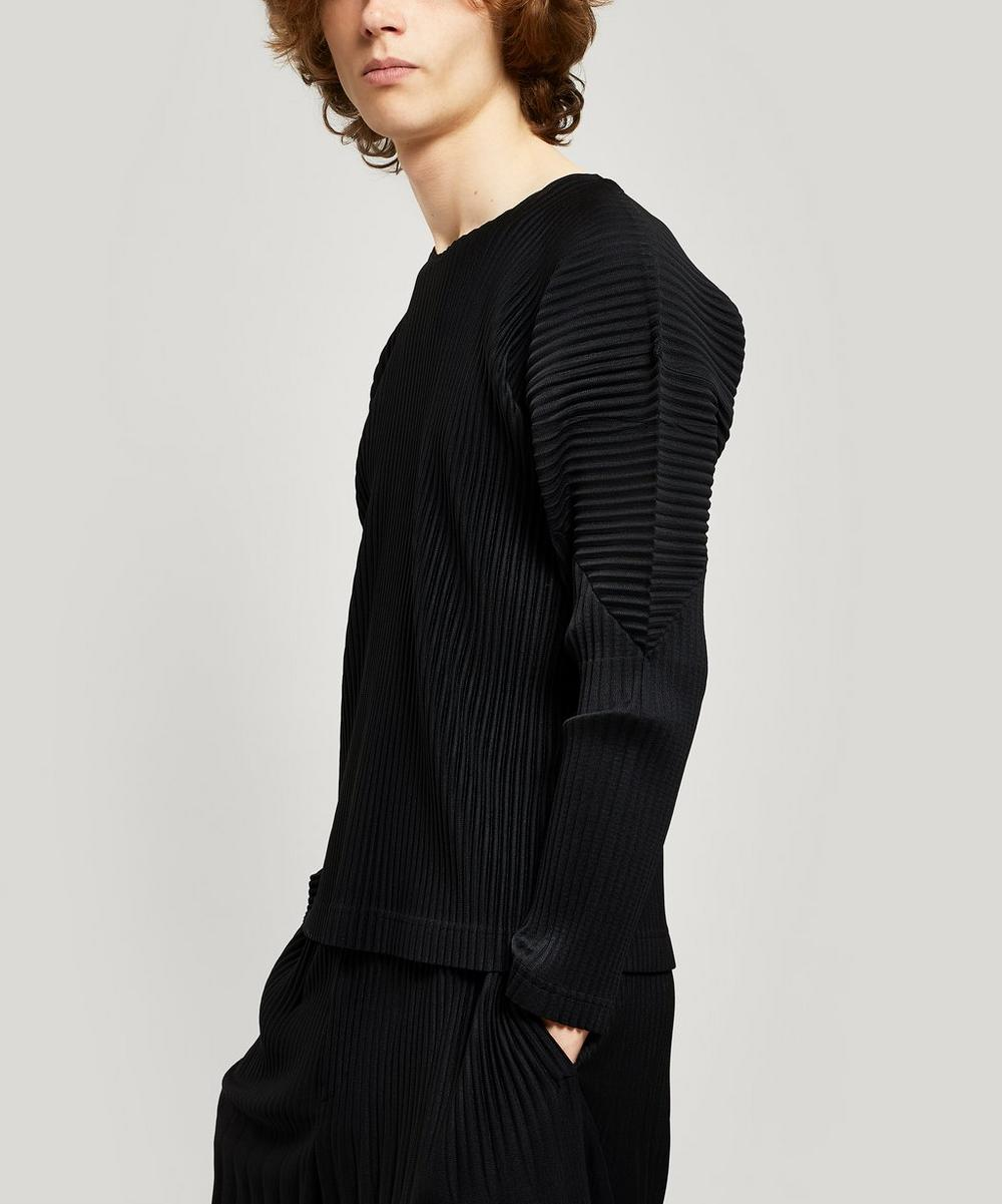 Homme Plisse Issey Miyake - Core Pleated Long Sleeve T-Shirt