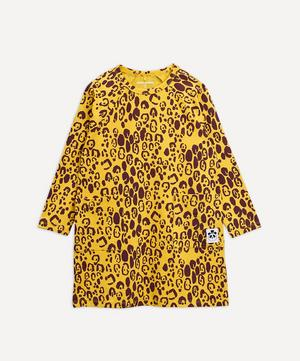 Leopard Long-Sleeve Dress 2-8 Years
