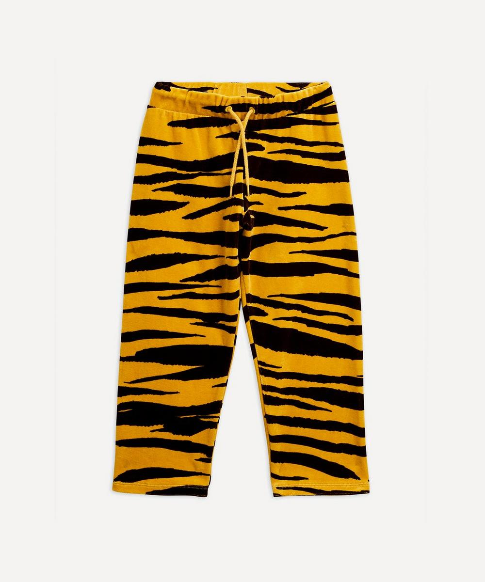 Mini Rodini - Tiger Velour Trousers 2-8 Years