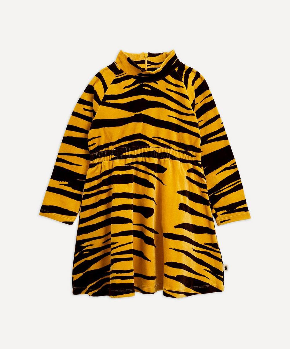 Mini Rodini - Tiger Velour Dress 2-8 Years