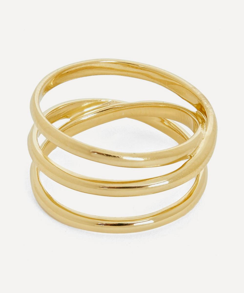 Maria Black - Gold-Plated Emilie Wrap Ring