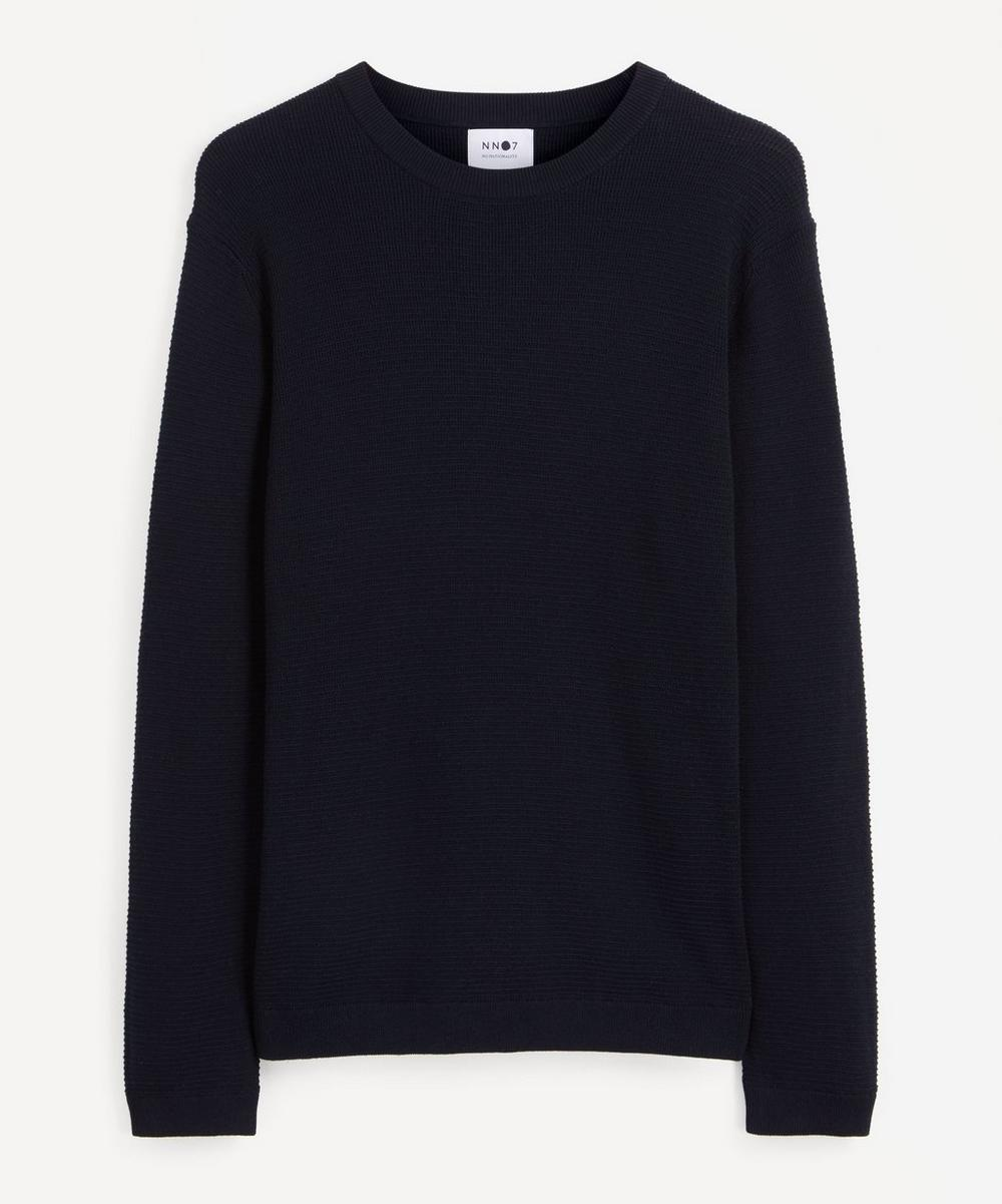 NN07 - Julian Mélange Cotton Sweater