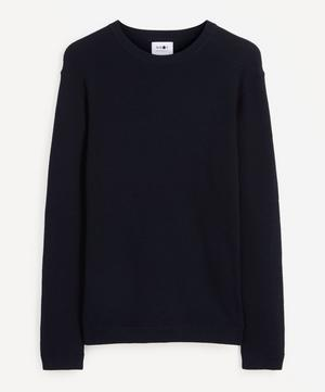 Julian Mélange Cotton Sweater