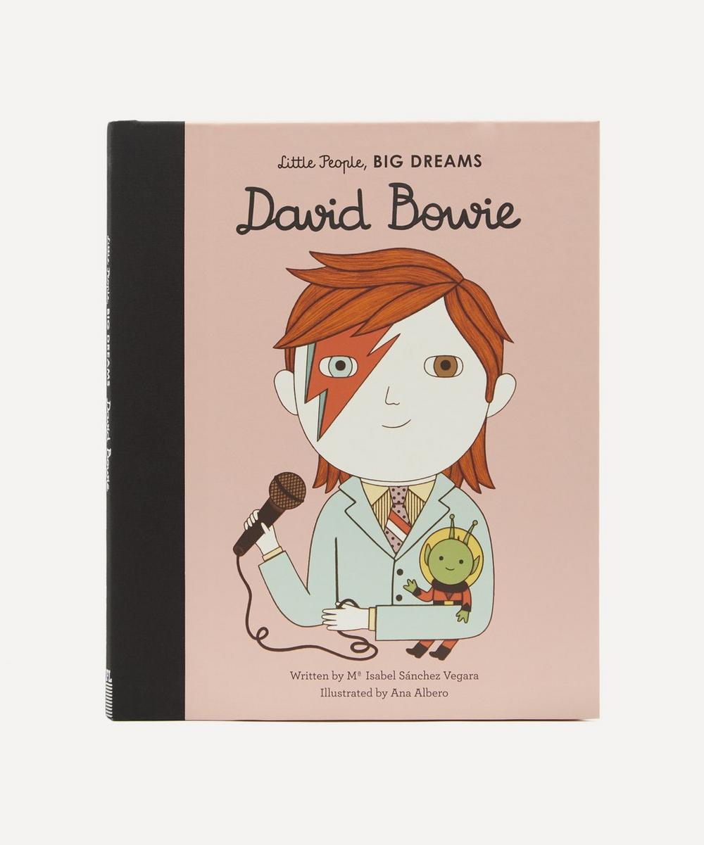 Bookspeed - Little People, Big Dreams David Bowie