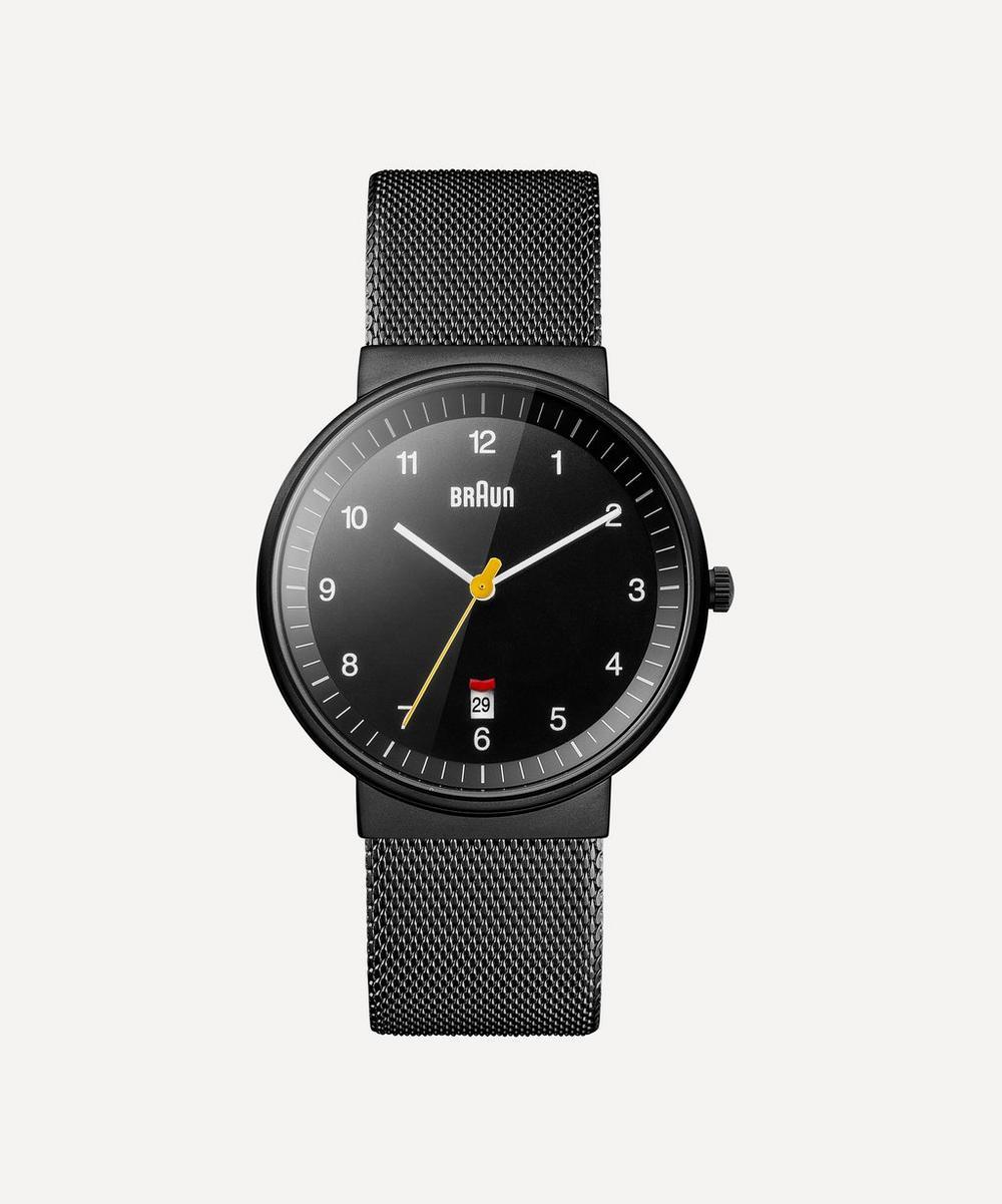 Braun - Classic Stainless Steel Mesh Strap Watch