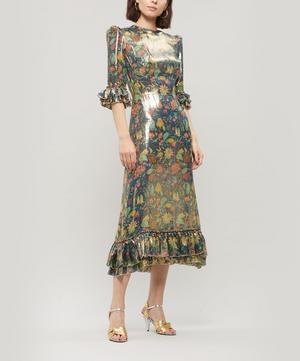 The Metallic Falconetti Midi-Dress