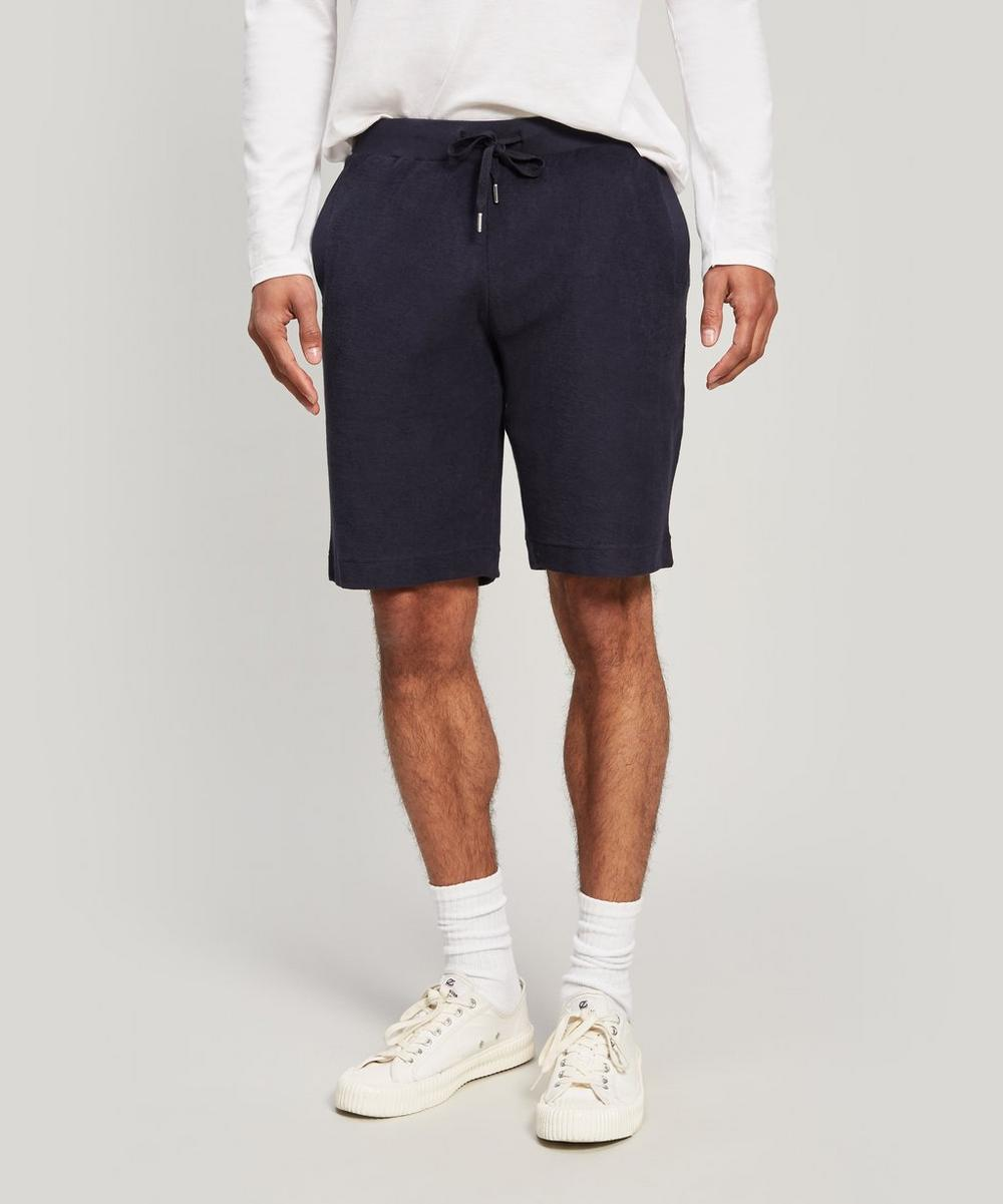 Sunspel - Organic Cotton Towelling Shorts