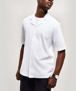 Towelling Organic Cotton Polo-Shirt