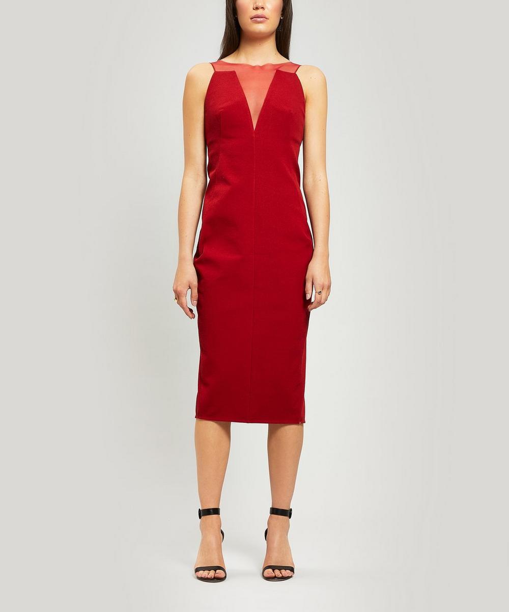 Rick Owens - Mesh-Panelled Dress