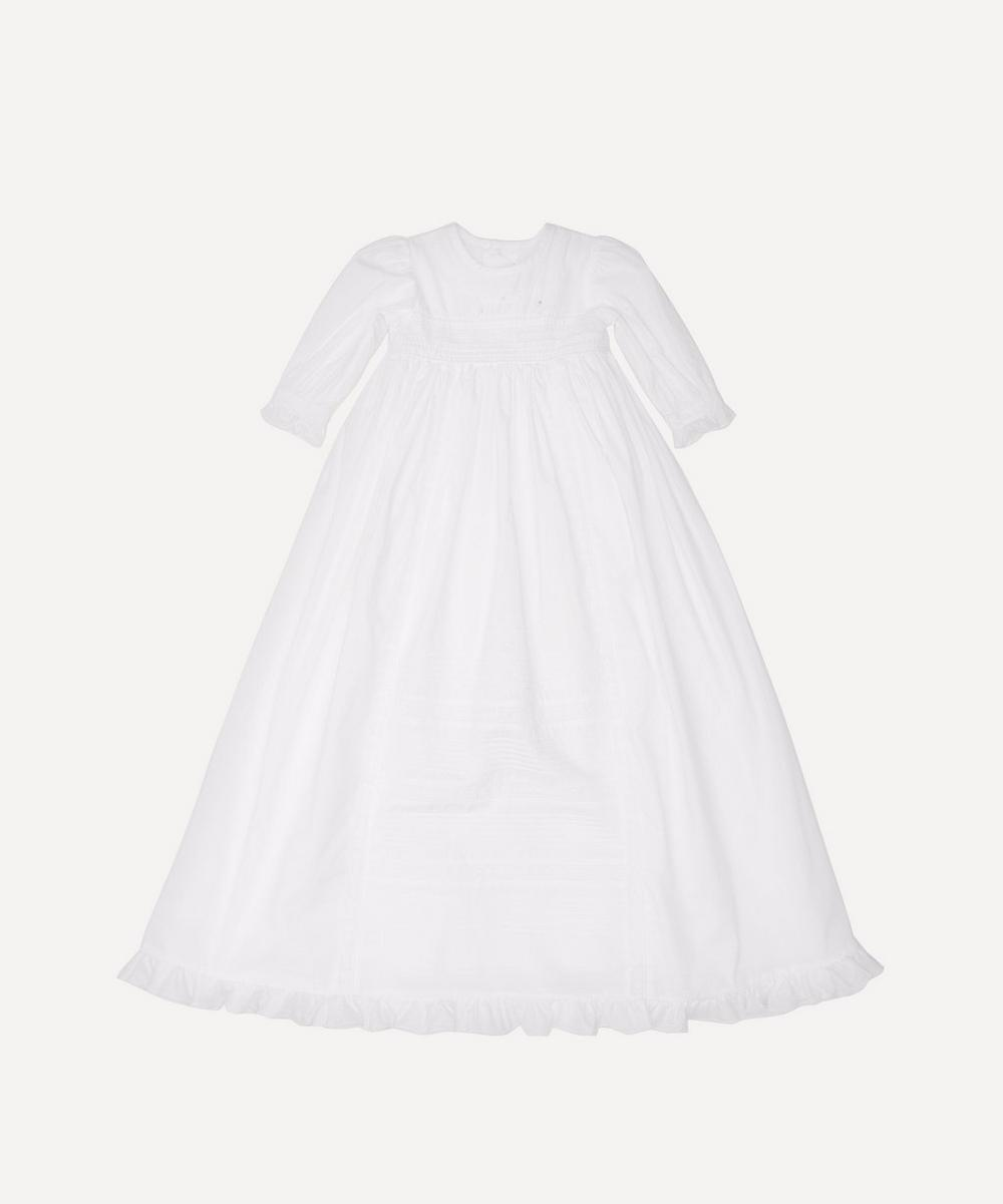 Kissy Kissy - Nicole Christening Gown and Hat Set 3-12 Months