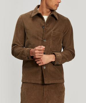 Cedrone Cotton-Corduroy Overshirt