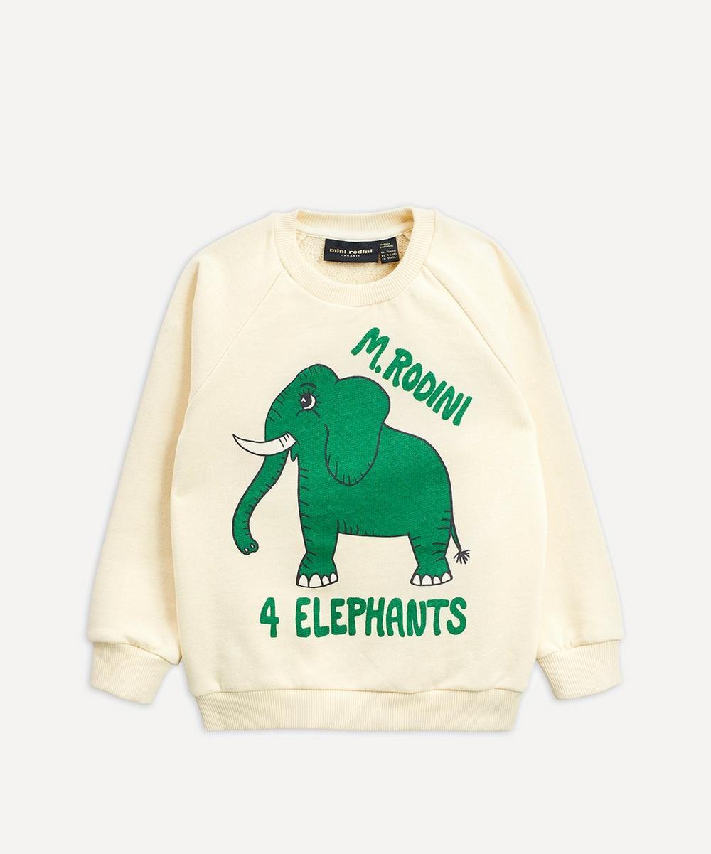 Mini Rodini - 4 Elephants Sweatshirt 3-18 Months