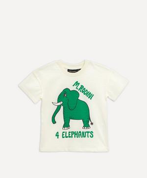 4 Elephants Short Sleeve T-Shirt 3-18 Months