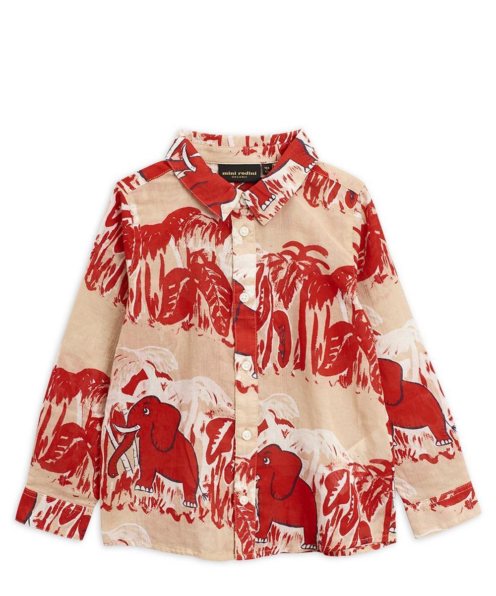 Mini Rodini - 4 Elephants Woven Shirt 2-8 Years