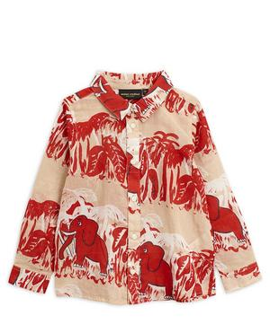 4 Elephants Woven Shirt 2-8 Years