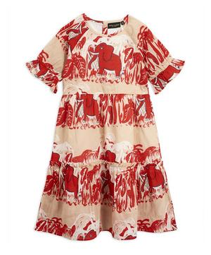 4 Elephants Woven Dress 2-8 Years
