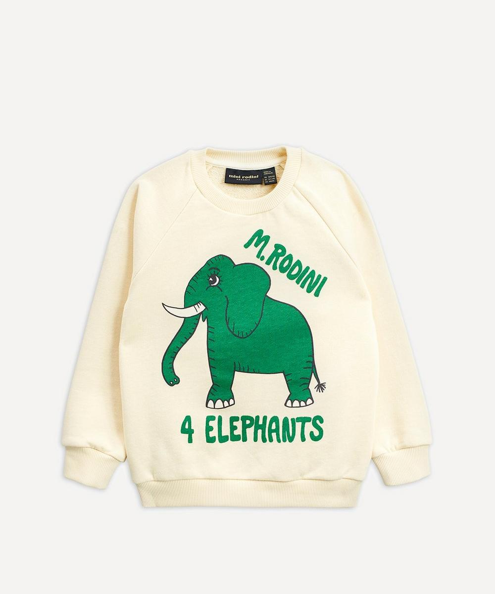 Mini Rodini - 4 Elephants Sweatshirt 2-8 Years