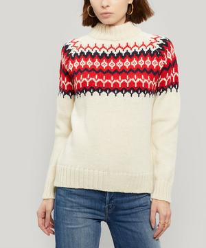 Bansha Fair Isle Wool Jumper