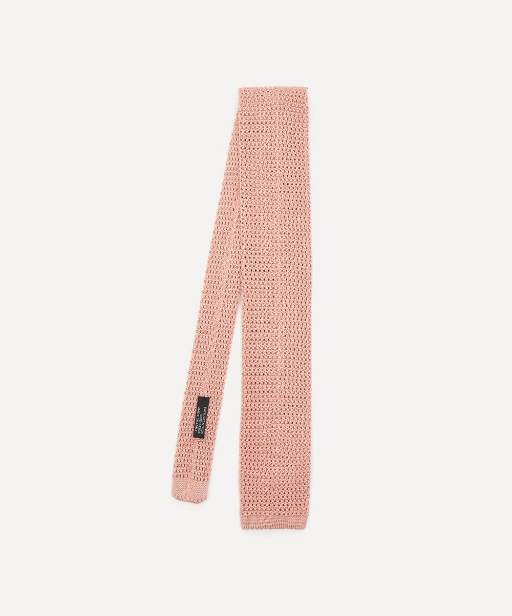 Nick Bronson - Plain Silk Tie