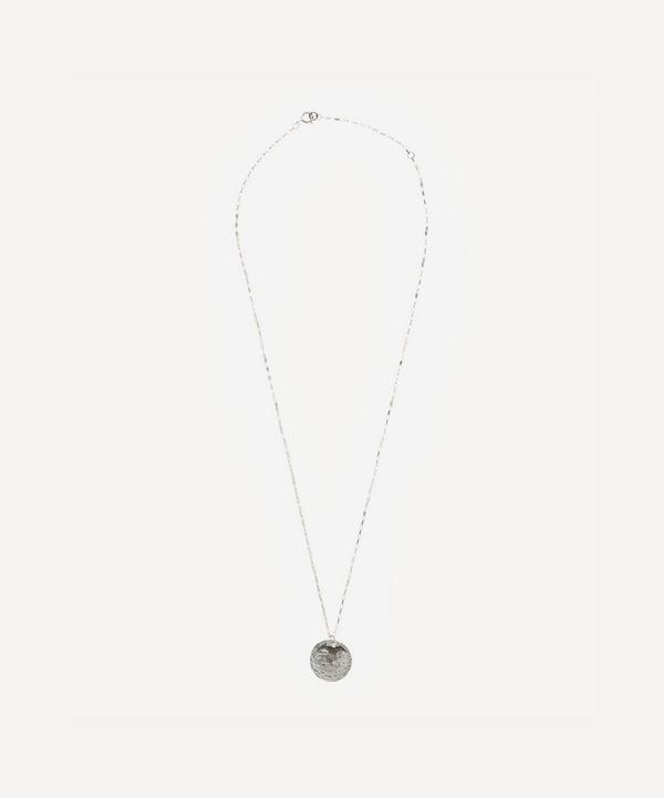 Alighieri - Sterling Silver Medium Snow Lion Necklace