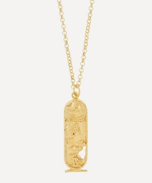 Gold-Plated Canto V Necklace