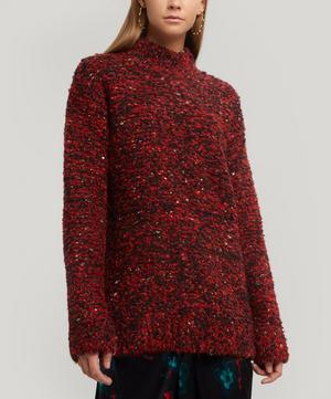 Slub Knit Wool-Blend Jumper