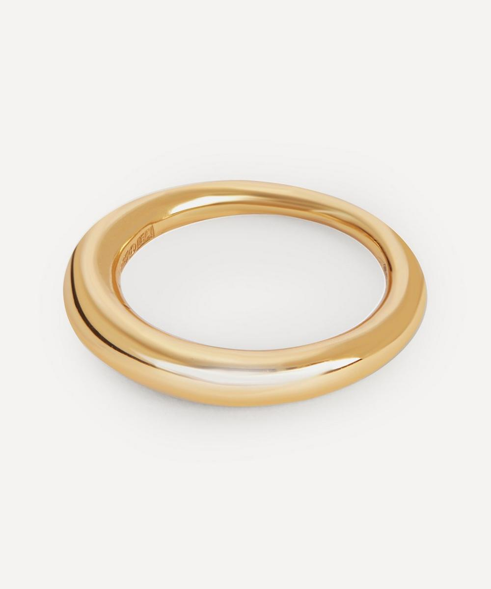 All Blues - Gold Plated Vermeil Silver Hungry Snake Ring