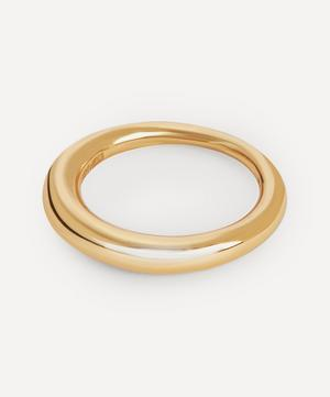 Gold Plated Vermeil Silver Hungry Snake Ring