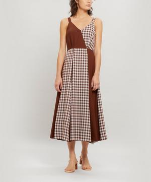 Rosa Japanese Wool Midi Dress