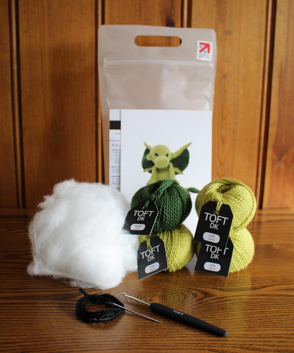 Crochet Dragon KIT Amigurumi Dragon Kit DIY Dragon Kit | Etsy | 1201x1000