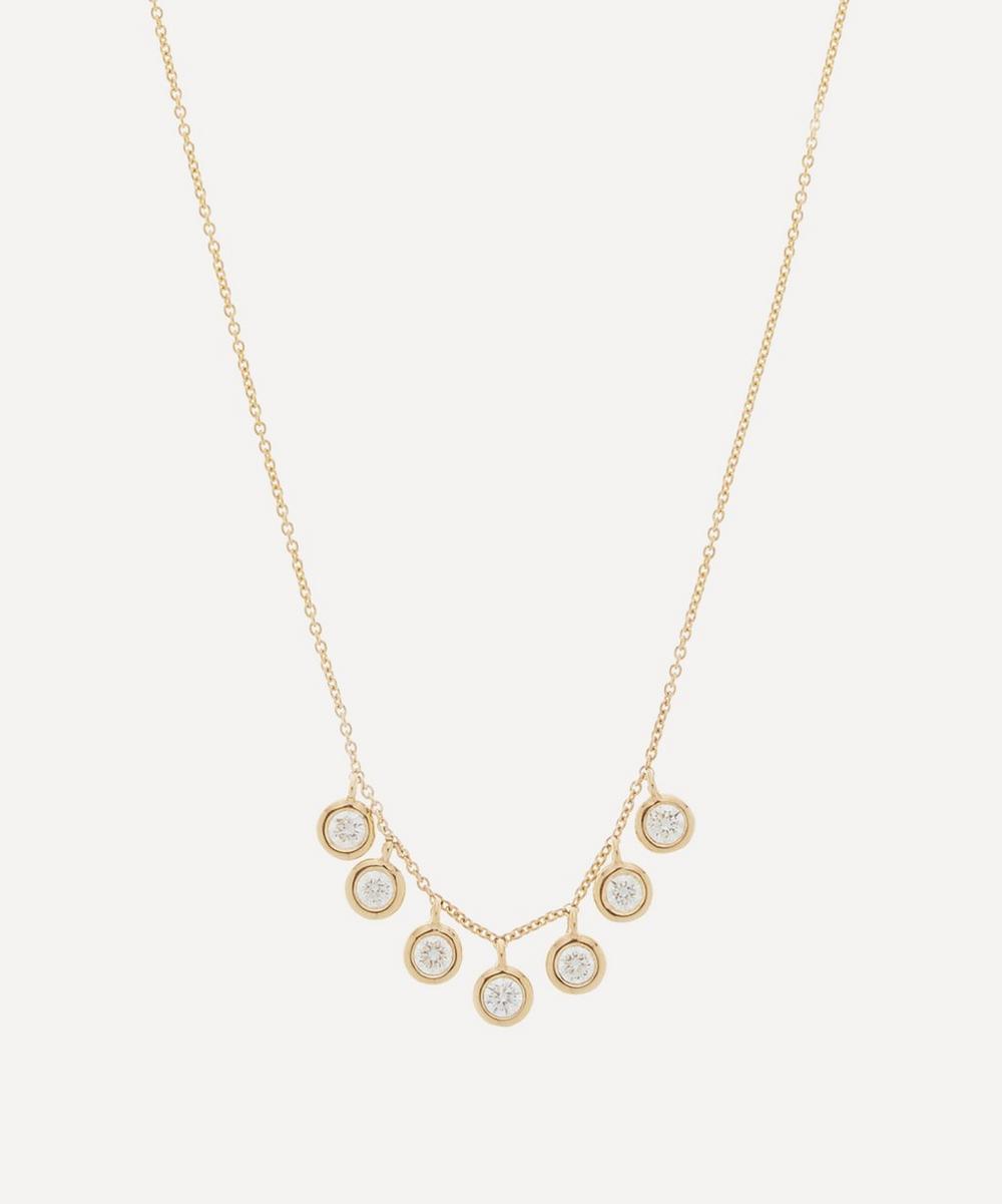 Roxanne First - Gold Diamond Drop Necklace