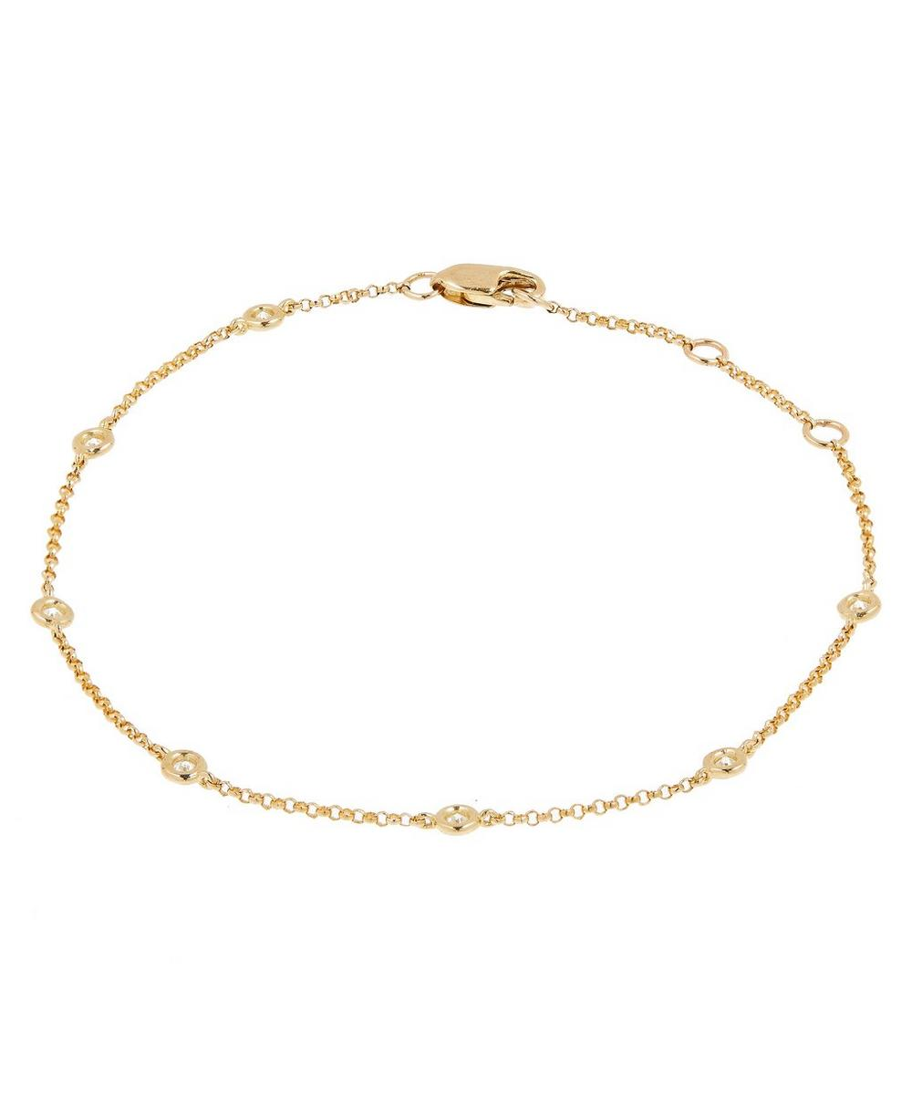 Roxanne First - Gold Diamond A Day Bracelet