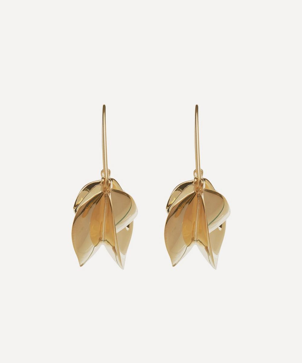 Anissa Kermiche - Gold-Plated Paniers Dorés Drop Earrings
